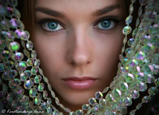 Beautiful Eyes On Beautiful Faces -Mesmerizing Beauty -7440